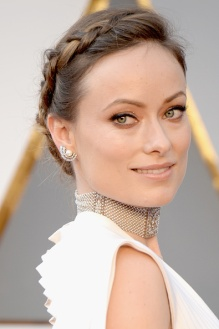 Olivia Wilde... She has my Favorite Hairstyle of the night.. Braids!!!